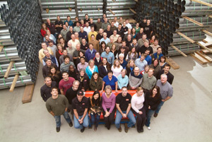 Employees of NRG Systems, 2010 group shot