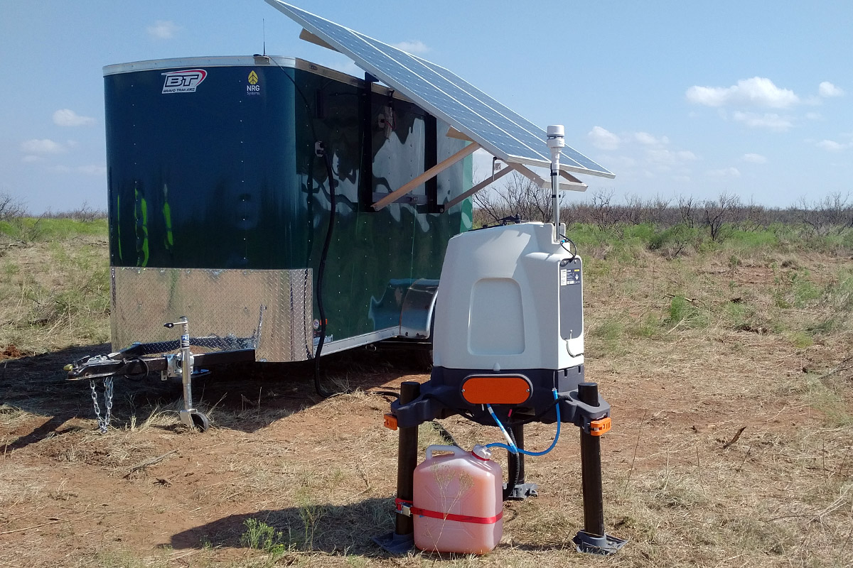 Lidar Power Supply | Moderate Climate, PV, Trailer