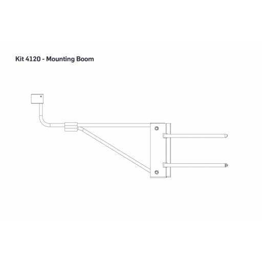 "View Support Resources for Mounting Boom | .52m (20.5""), Tubular, Iridium Antenna"