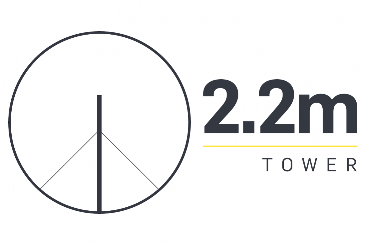 2.2m Tower